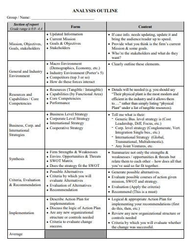 analysis paper outline in pdf
