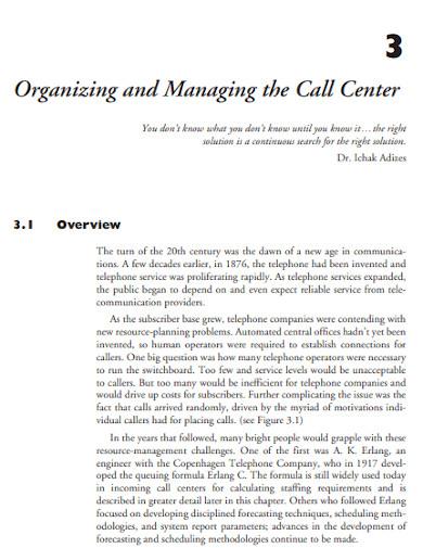 annual call center budget