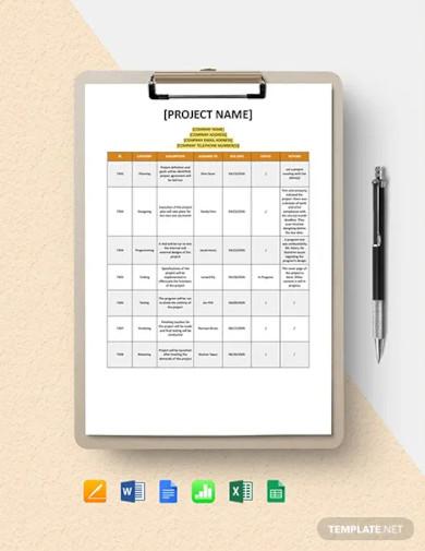 assumption log template1