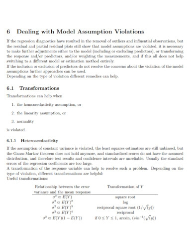 basic assumption log