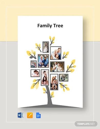 blank family tree example