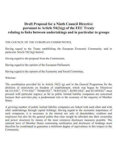 draft article proposal