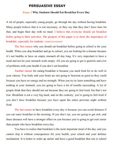 editable persuasive essay for students