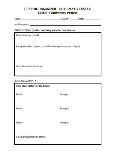 formal short informative essay