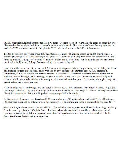 memorial regional medical case summary