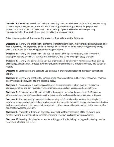 personal nonfiction essay