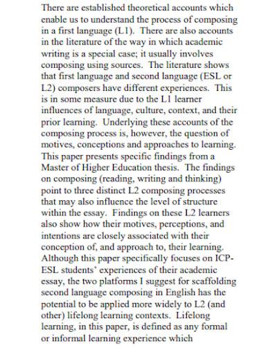 post graduation experience essay