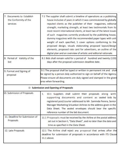 printable magazine advertising proposal