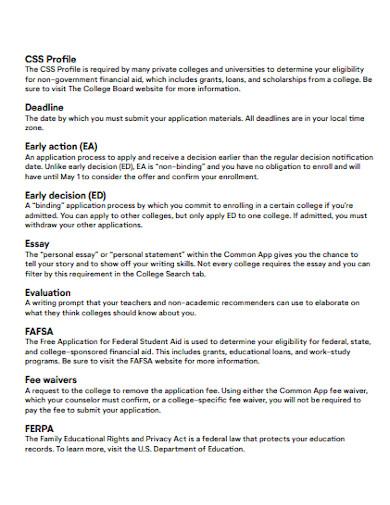 sample common app essay
