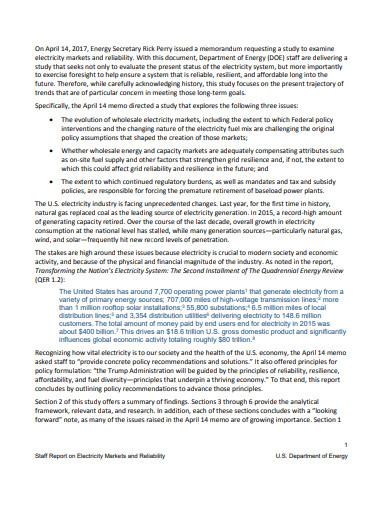secretary staff report