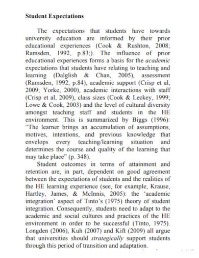 student descriptive essay for university