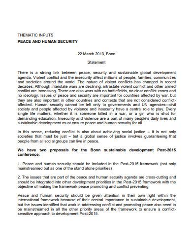 thematic inputs statement1