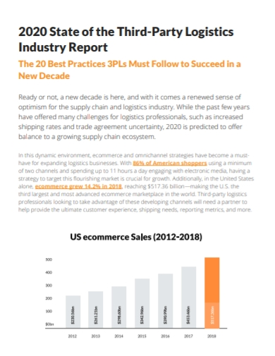 third party logistics industry report