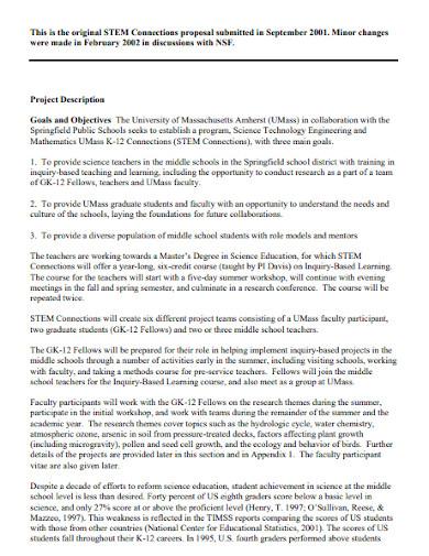 university full project proposal