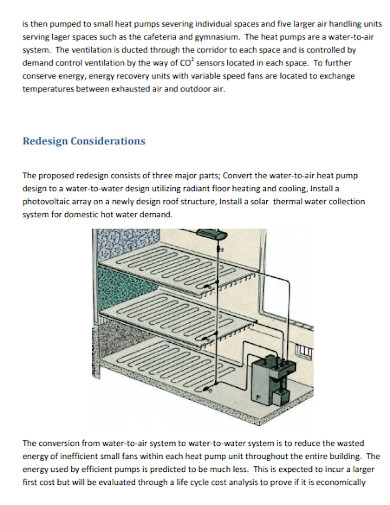 university project proposal of mechanical