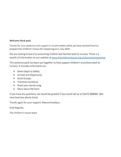 welcome speech for kids in pdf