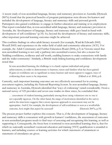 acknowledgement industrial report