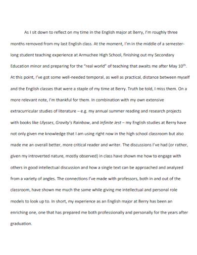 portfolio conclusion essay