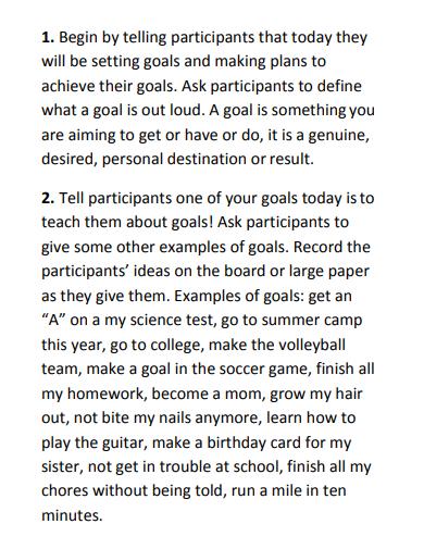 simple longterm academic goals