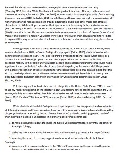 social pyschology research proposal