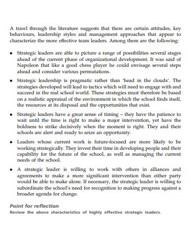 team leadership development goals