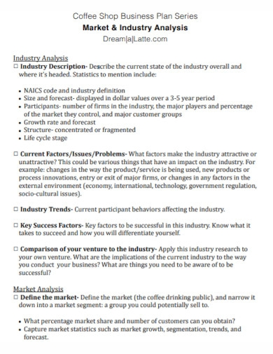 coffee shop industry and market analysis