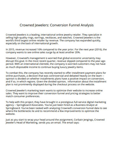 conversion funnel analysis