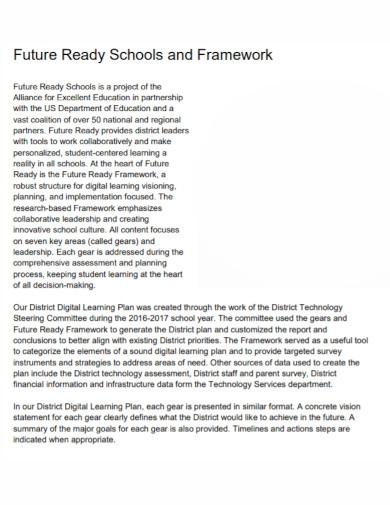 digital innovative learning plan