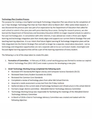 digital learning integration plan