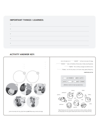 family coping activity sheet