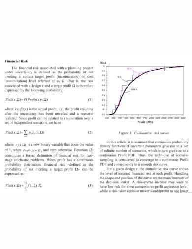 financial university risk management plan