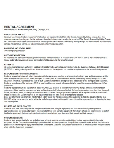 flat shop rent agreement