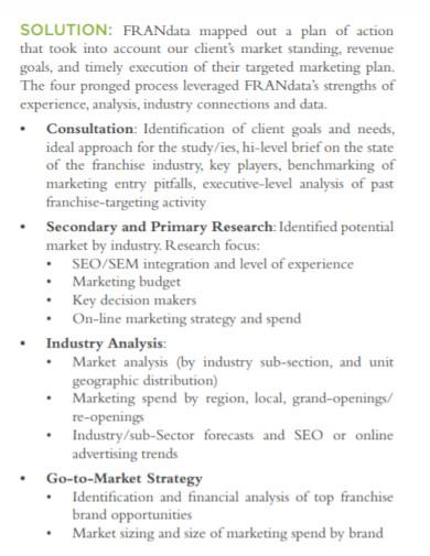 industry customized full market analysis