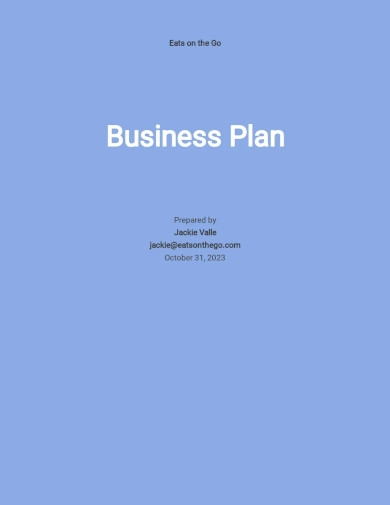 new business development plan template