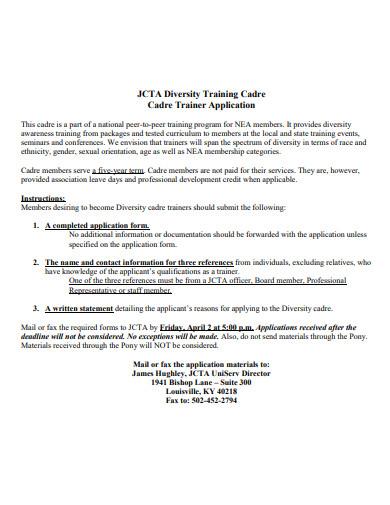 printable diversity training program