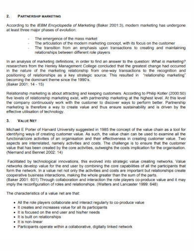 printable partnership marketing plan