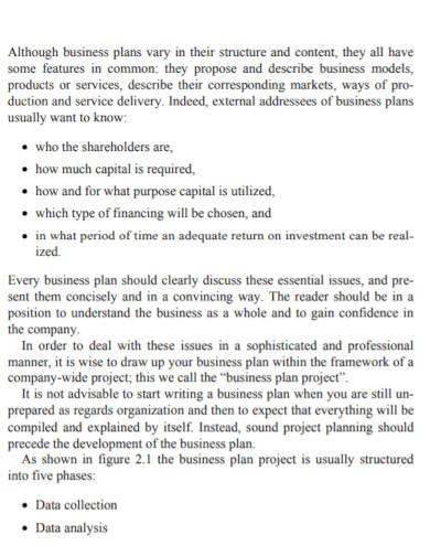 research business development plan