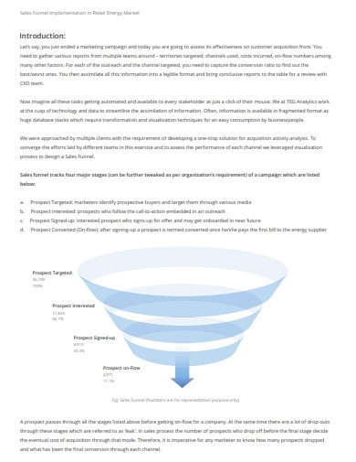 sales funnel analysis template