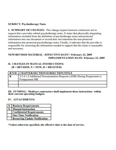 sample psychotherapy note