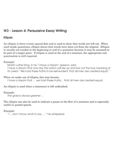 short persuasive essay formal
