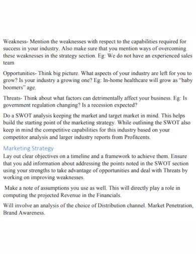 small business development swot analysis