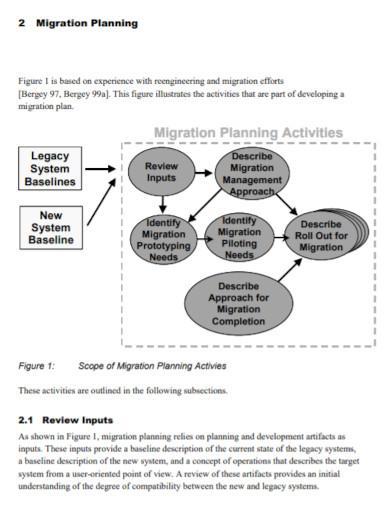 software migration plan