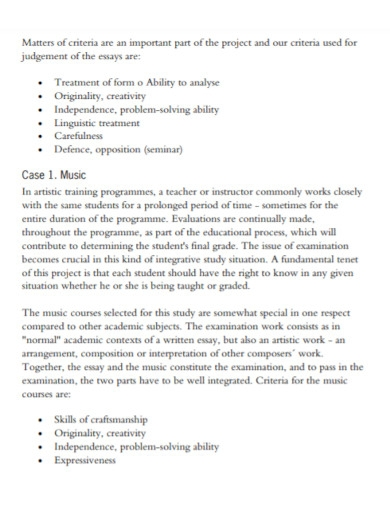 student self evaluation essay