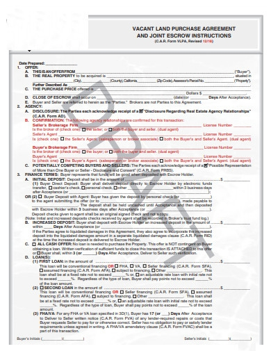 vacant land purchase agreement in pdf1