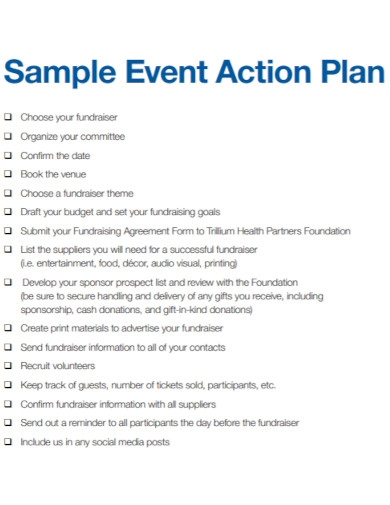 basic event action plan