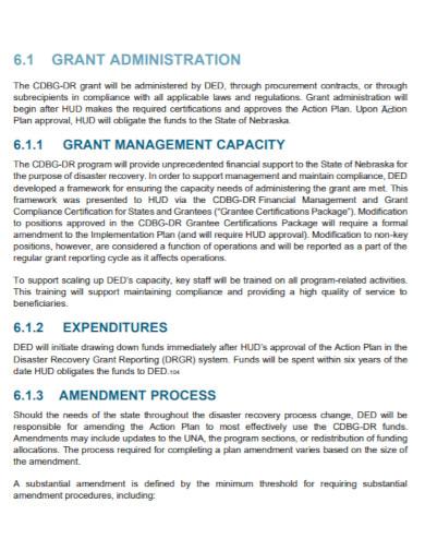 disaster action plan in pdf