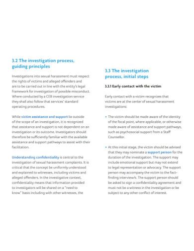 printable harassment investigation report