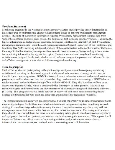 short problem statement in pdf