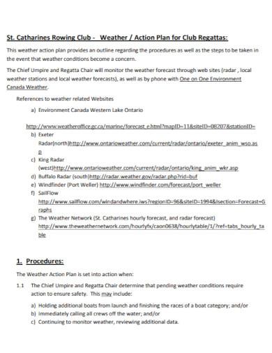 standard club action plan