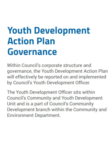 youth development action plan